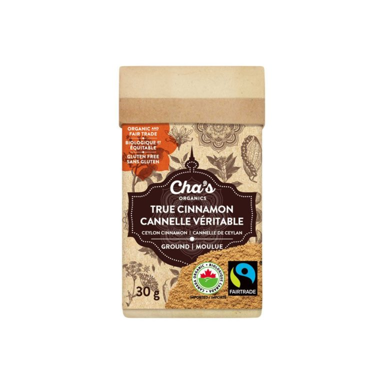 Fairtrade cinnamon by Cha's Organics on Rosette Fair Trade