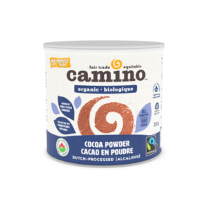 Fairtrade cocoa powder (dutch processed) by Camino available on Rosette Fair Trade