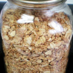 Vegan coconut granola recipe using fairtrade and local ingredients on the Rosette Fair Trade blog and online store