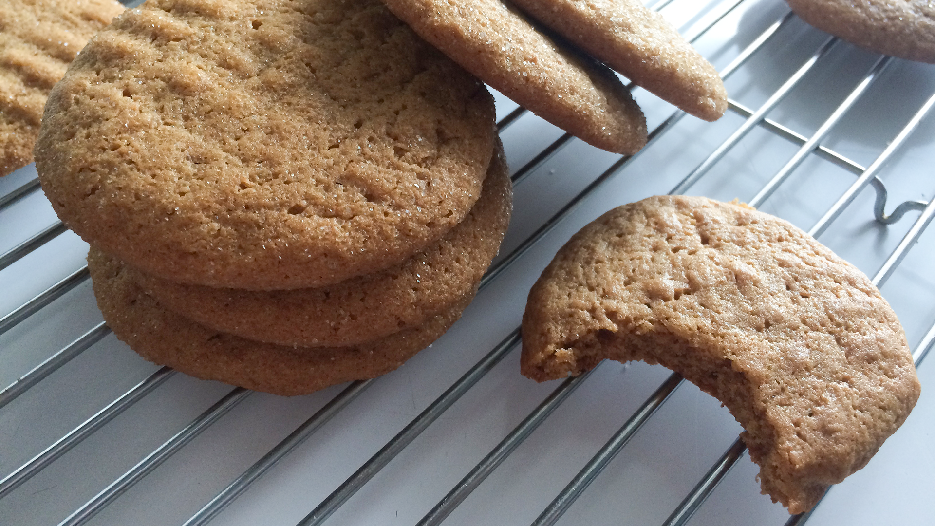 Honey peanut butter cookies recipe by Rosette Fair Trade 08