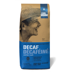 Level Ground decaf Colombian coffee (fair trade, organic) - Rosette Fair Trade online store