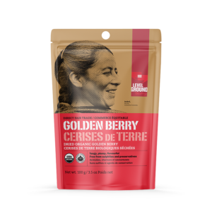 Level Ground golden berry (dried, fair trade, organic) - Rosette Fair Trade online store
