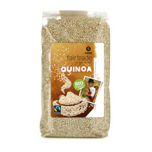 Fair trade quinoa (Oxfam) on Rosette Fair Trade