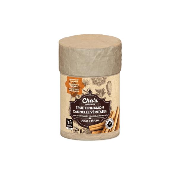 Ceylon cinnamon sticks by Cha's Organics on the Rosette Fair Trade online store