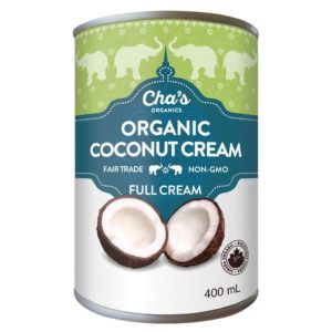 Cha's Organics coconut cream (fair trade, organic) on Rosette Fair Trade online store