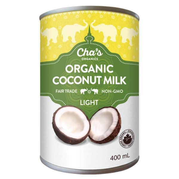 Fair trade coconut milk (light) by Cha's Organics on Rosette Fair Trade online store
