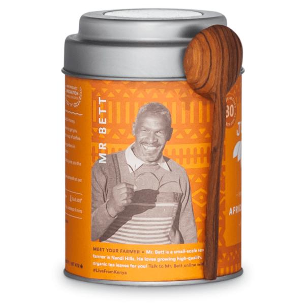 African Breakfast tea by JusTea on Rosette Fair Trade