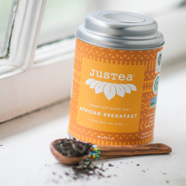 African Breakfast tea by JusTea on Rosette Fair Trade store