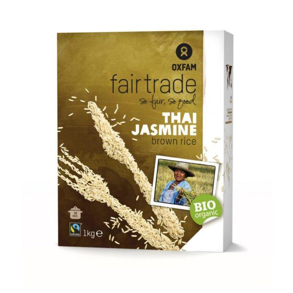 Fair trade brown rice (Oxfam Fair Trade) on Rosette Fair Trade