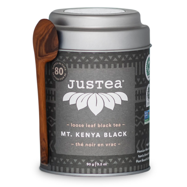 Mt Kenya Black tea by JusTea on Rosette Fair Trade online store