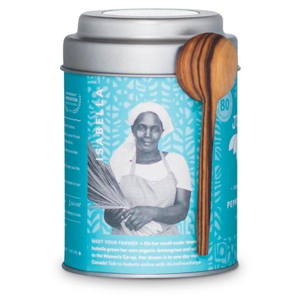 Peppermint Detox herbal tea by JusTea on Rosette Fair Trade store