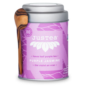 Purple Jasmine loose leaf tea by JusTea on Rosette Fair Trade online store