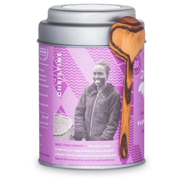 Purple Jasmine loose leaf tea by JusTea on Rosette Fair Trade online store