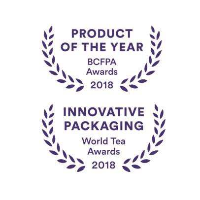 Purple Jasmine loose leaf tea by JusTea on Rosette Fair Trade product of the year awards
