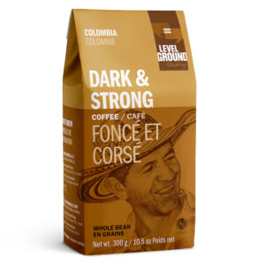 Colombia dark roast coffee by Level Ground Trading on Rosette Fair Trade