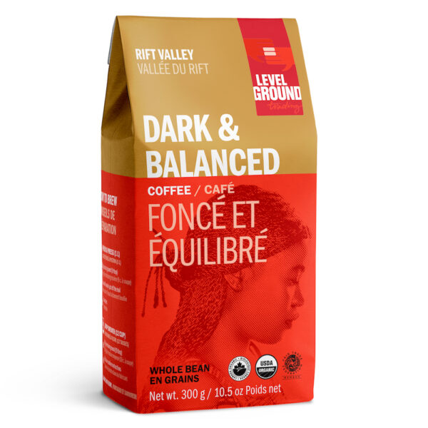 Rift Valley dark coffee by Level Ground Trading on Rosette Fair Trade