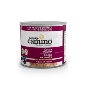Camino natural cocoa powder on Rosette Fair Trade