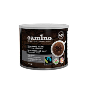 Intensely dark drinking chocolate by Camino on Rosette Fair Trade