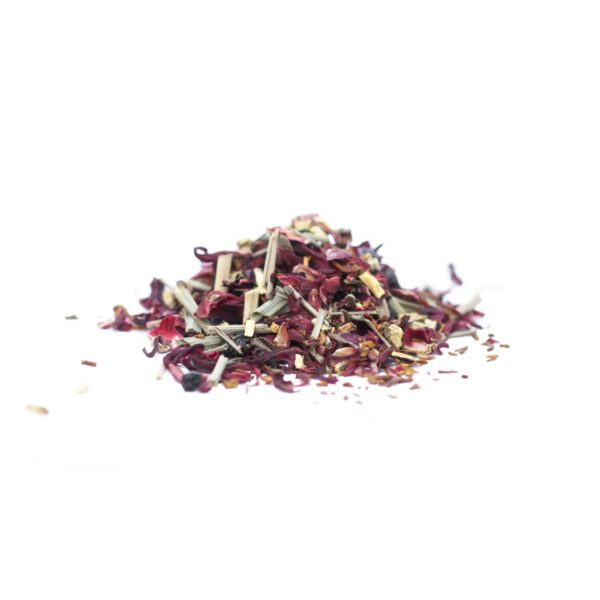 Little Berry Hibiscus herbal tea by JusTea on Rosette Fair Trade online store
