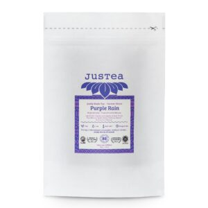 Purple Rain loose leaf tea (refill pouch) by JusTea on Rosette Fair Trade store