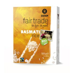 Fair trade basmati rice (organic) by Oxfam Fair Trade on the Rosette Network online store