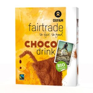 Fair trade chocolate milk powder by Oxfam Fair Trade on the Rosette Network online store