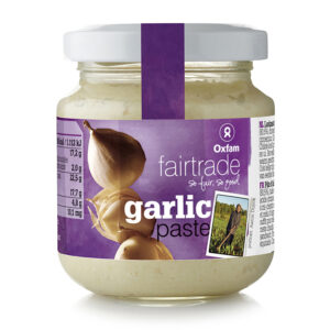 Fair trade garlic paste by Oxfam Fair Trade on the Rosette Network online store