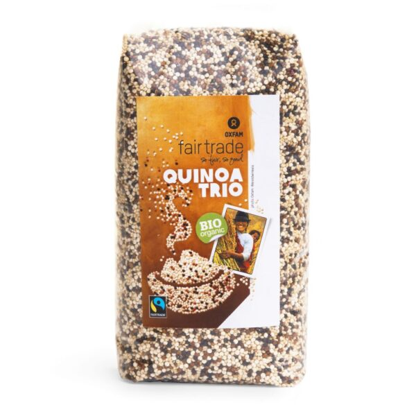 Fair trade tricolour quinoa (organic) by Oxfam Fair Trade on the Rosette Network online store