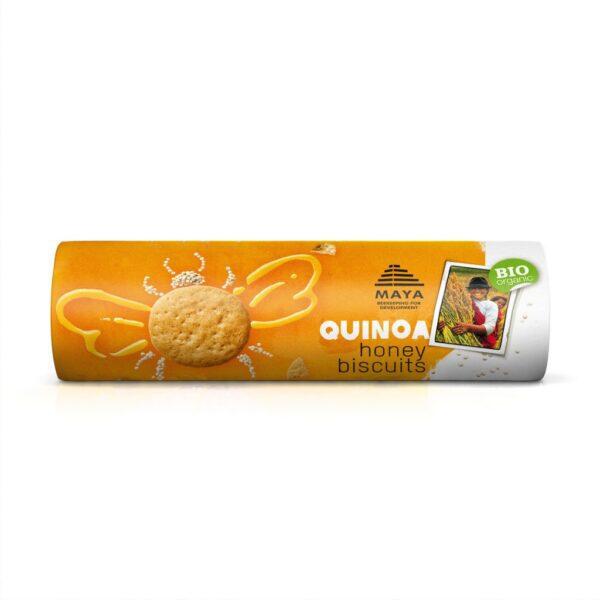Maya organic quinoa-honey biscuits on Rosette Fair Trade online store