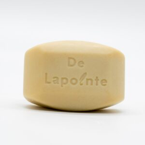 Organic blueberry soap with shea butter by Delapointe on Rosette Fair Trade online store