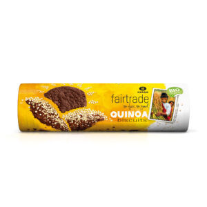 Organic chocolate-quinoa biscuits on Rosette Fair Trade online store