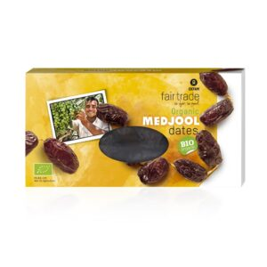 Organic medjool dates by Oxfam Fair Trade on the Rosette Network online store