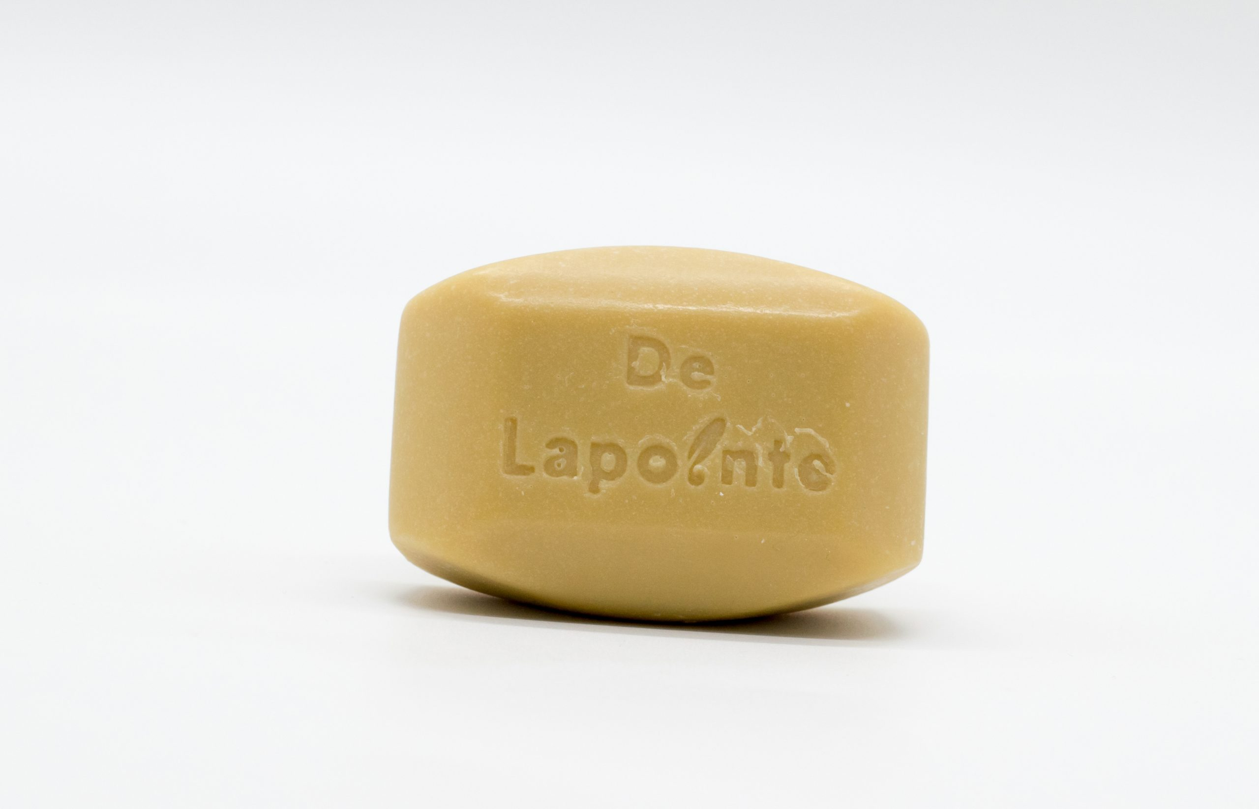 Organic patchouli sage soap with shea butter by Delapointe on Rosette Fair Trade online store