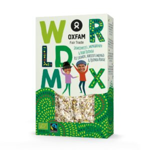 Worldmix rice mung beans quinoa (organic) by Oxfam Fair Trade on the Rosette Network online store