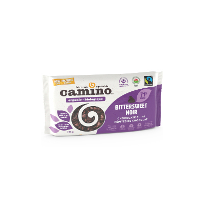 Camino Bittersweet Chocolate Chips (organic, vegan, gluten free, nut free) on Rosette Fair Trade