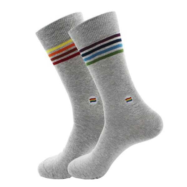 Fairtrade organic socks by Conscious Step that protect LGBTQ+ lives (etik & co) on the Rosette Fair Trade online store