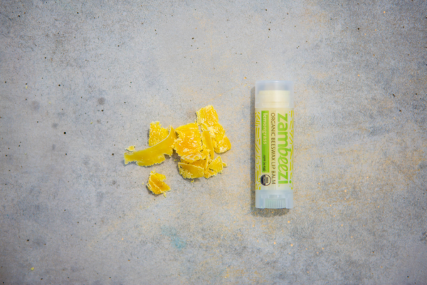 Fair trade organic lemongrass lip balm by Zambeezi (fair trade, natural) on the Rosette Network