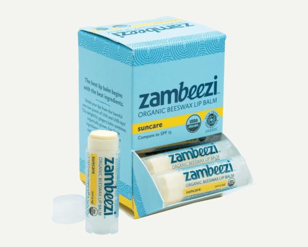 Fair trade organic suncare lip balm by Zambeezi (all natural) on the Rosette Network