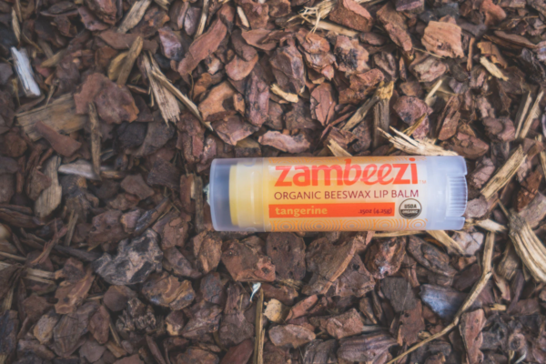 Fair trade tangerine lip balm by Zambeezi (all natural) on the Rosette Network