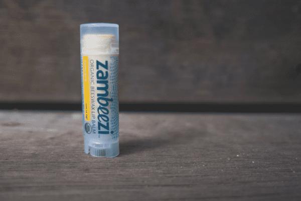 Organic suncare lip balm by Zambeezi (all natural) on Rosette Fair Trade