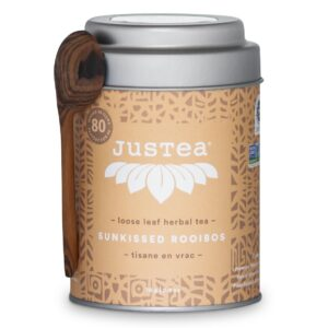 Sunkissed Rooibos loose leaf tea by JusTea (fair trade, organic) on the Rosette Network