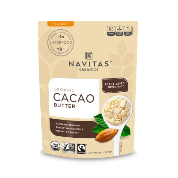 Fairtrade certified cocoa butter by Navitas Organics on the Rosette Network
