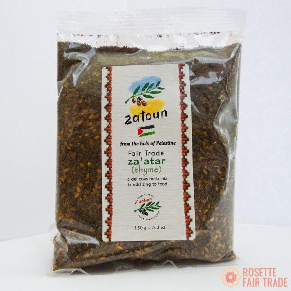 Zatoun zaatar thyme & sumac herb mix (fair trade, all natural spice seasoning) on the Rosette Network online store