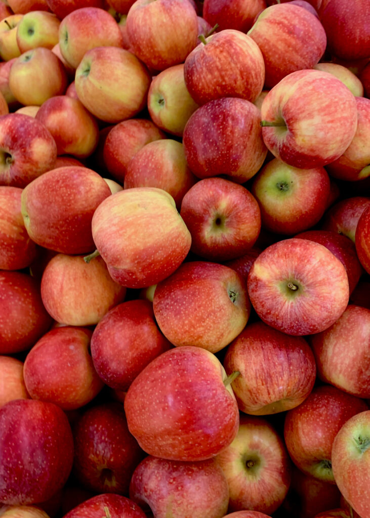 Apples are great to buy local and buy small