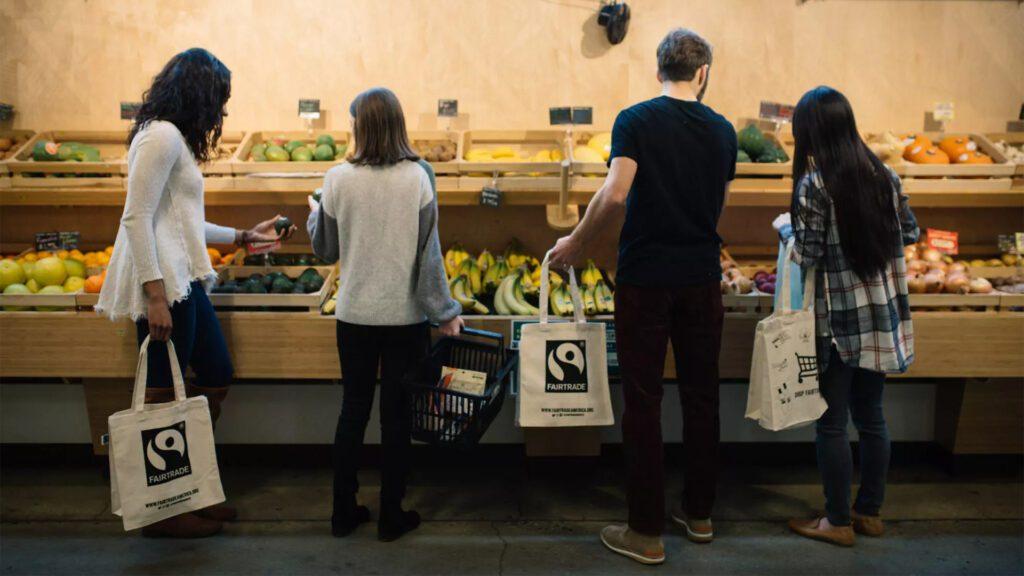 Shopping Fairtrade supports farmers! Grab some avocados, mangoes or bananas today!