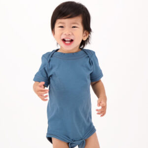 Fair trade baby onesie (The Fair Trade Baby Short Sleeve Onesie) by The Good Tee on the Rosette Network