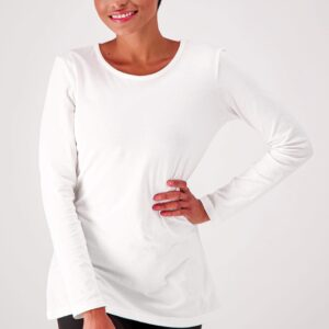 Fair trade long sleeve tee (The Slim Fit Organic Cotton Long Sleeve Tee) by The Good Tee on the Rosette Network