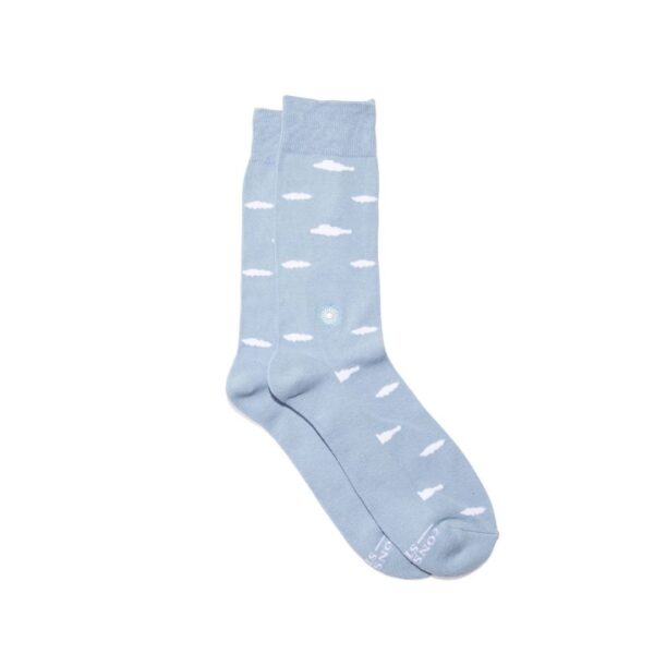 Conscious step socks that support mental health