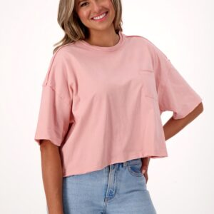 Fair trade crop top (Fair & Fave Cropped Pocket Tee) by The Good Tee on the Rosette Network
