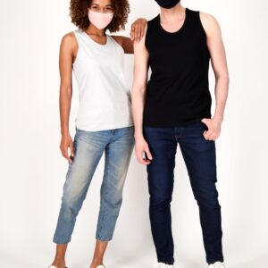 Fair trade tank tops (The Unisex Go-To Tank 3-Pack) by The Good Tee on the Rosette Network